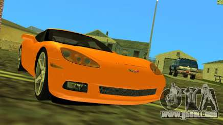 Chevrolet Corvette C6 para GTA Vice City