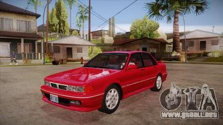 Mitsubishi Galant VR-4 (E39A) 1987 HQLM para GTA San Andreas