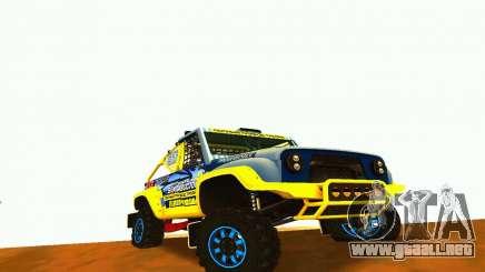 Rally de UAZ 31514 para GTA San Andreas