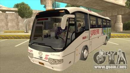 Higer KLQ6129QE - Super Five Transport S 025 para GTA San Andreas