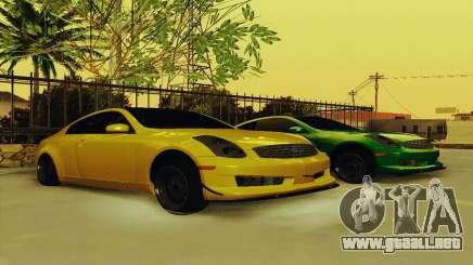 Infiniti G35 Hellaflush para GTA San Andreas