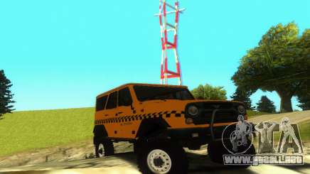 UAZ Hunter Taxi para GTA San Andreas