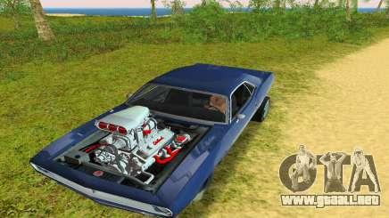 Plymouth Barracuda Supercharger para GTA Vice City