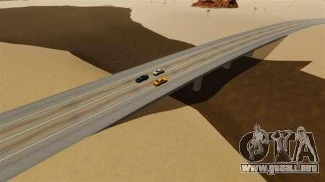 Destino ciudad desierta para GTA 4 sexto de pantalla