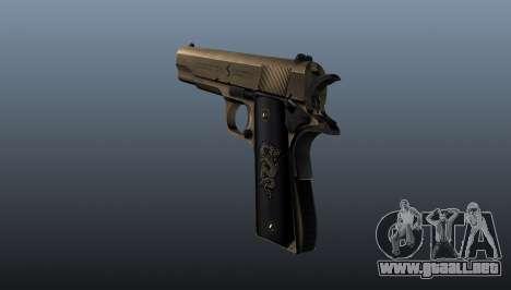 Pistola M1911 v2 para GTA 4 segundos de pantalla