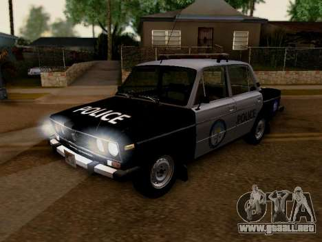 Policía de Los Santos 2106 VAZ para visión interna GTA San Andreas