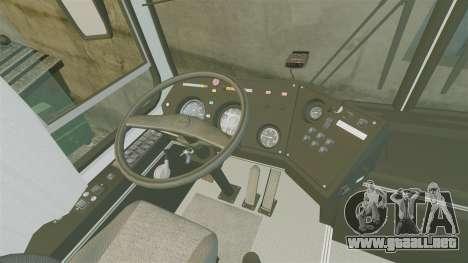 LIAZ-5256 45-01 para GTA 4 vista hacia atrás