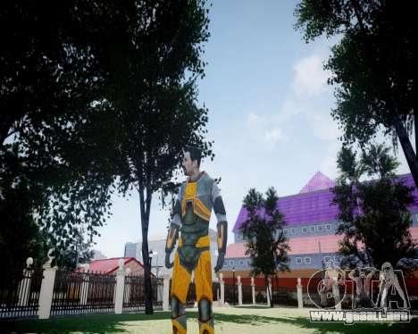 Gordon Freeman para GTA 4 sexto de pantalla