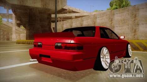 Nissan Silvia S13 Rocket Bunny para la visión correcta GTA San Andreas
