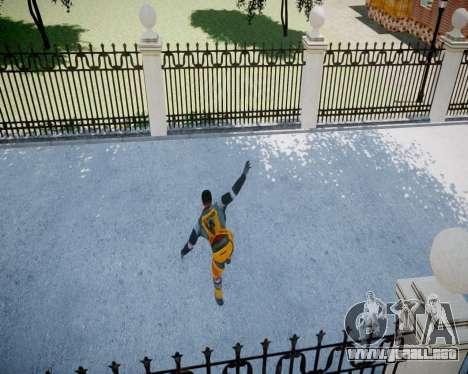 Gordon Freeman para GTA 4 décima de pantalla