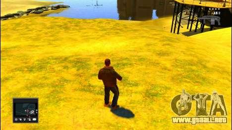 GTA V Radar para GTA 4 segundos de pantalla