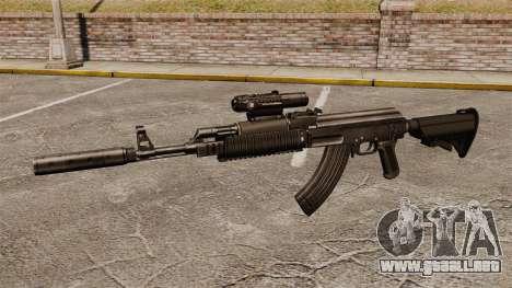AK-47 (táctico) para GTA 4 tercera pantalla