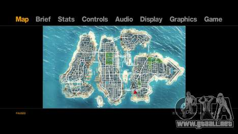 Map-Radar-HUD Pack para GTA 4 segundos de pantalla