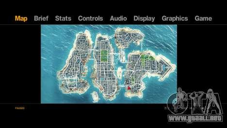 Map-Radar-HUD Pack para GTA 4 segundos de pantalla