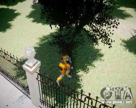 Gordon Freeman para GTA 4 quinta pantalla