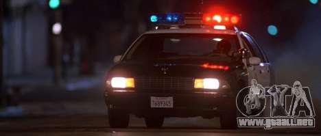 Coche de policía sirena de GTA III para GTA San Andreas