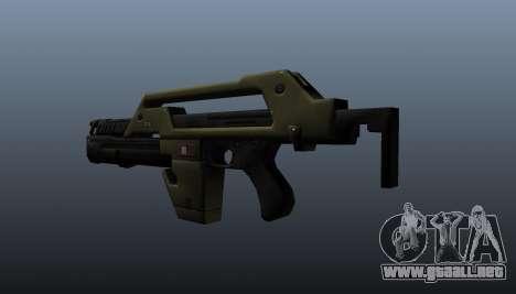 Rifle M41A L-E-N asesino para GTA 4 segundos de pantalla
