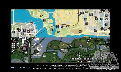 GTA V atlas map para GTA San Andreas