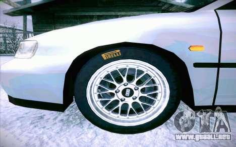 Honda Accord Wagon para vista inferior GTA San Andreas