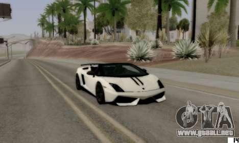VI ENB para PC baja para GTA San Andreas tercera pantalla