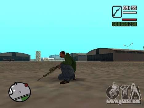 SDO para GTA San Andreas tercera pantalla
