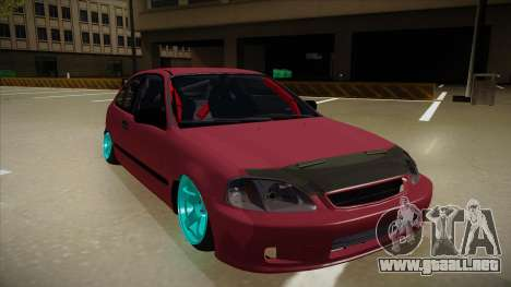 Honda Civic EK9 Drift Edition para GTA San Andreas left
