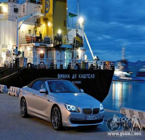 Pantalla de arranque de BMW para GTA 4 tercera pantalla