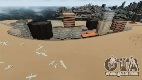 Destino ciudad desierta para GTA 4 segundos de pantalla