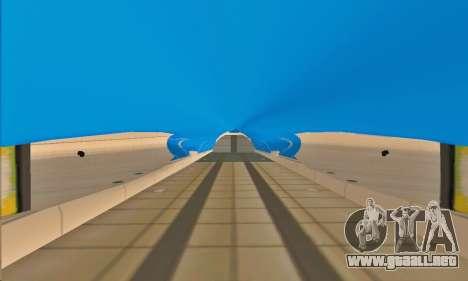 Andromada GTA V para GTA San Andreas interior