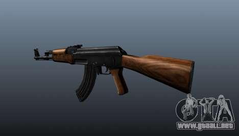 AK-47 v2 para GTA 4 segundos de pantalla