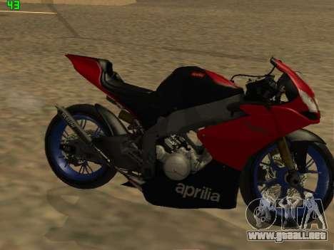 Aprilia RS50 para GTA San Andreas left