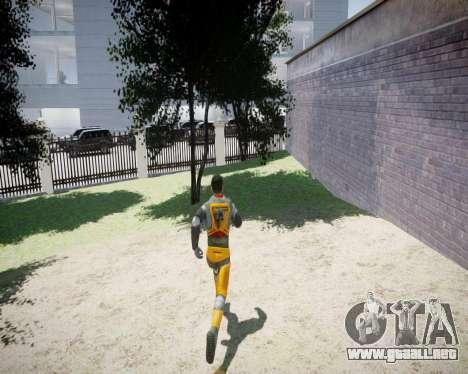 Gordon Freeman para GTA 4 octavo de pantalla
