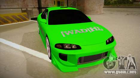 Mitsubishi Eclipse GSX 1996 [WAD]HD para GTA San Andreas left