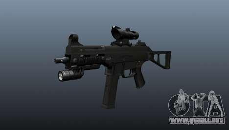 UMP45 subfusil ametrallador v1 para GTA 4