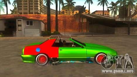 Elegy New Year for JDM para visión interna GTA San Andreas
