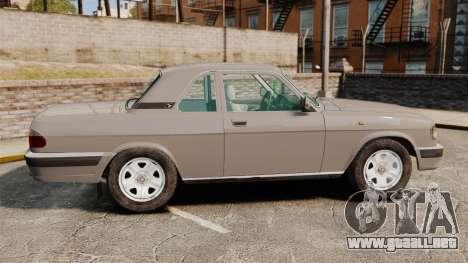 Volga GAZ-3110 Coupe para GTA 4 left