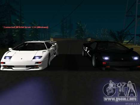 Lamborghini Diablo SV v2 para GTA San Andreas
