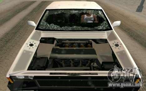 Blista Compact Type R para la vista superior GTA San Andreas