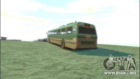 Bus de GTA 5 para GTA 4 Vista posterior izquierda