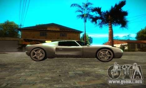 Bullet GT32 Big Spoiler para GTA San Andreas left