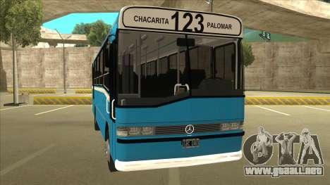 Mercedes-Benz OHL-1320 Linea 123 para GTA San Andreas left