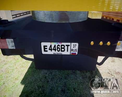 MAZ 500 KS3577-4-5 partido para GTA 4 visión correcta