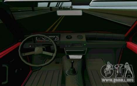 Kamaz Oka para visión interna GTA San Andreas