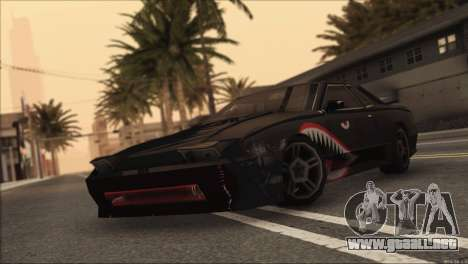 Elegy Sleep para GTA San Andreas vista posterior izquierda
