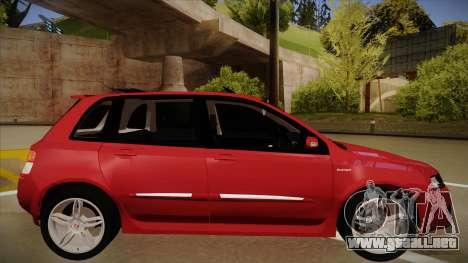 FIAT Stilo Sporting 2009 para GTA San Andreas vista posterior izquierda