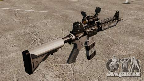 Automático carabina M4 CQBR v2 para GTA 4 segundos de pantalla