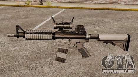 Automático carabina M4 CQBR v2 para GTA 4 tercera pantalla