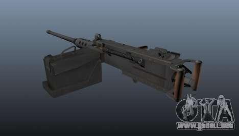 Maxim ametralladora Browning M2HB para GTA 4 segundos de pantalla