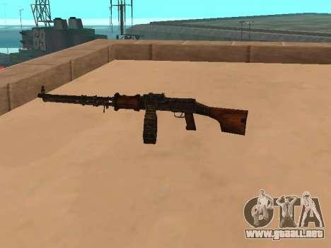 Ametralladora ligera (RAP) [la citación necesitó para GTA San Andreas segunda pantalla