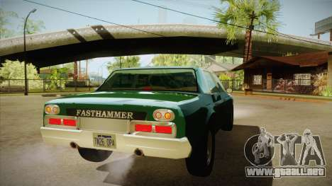 Fasthammer para la visión correcta GTA San Andreas
